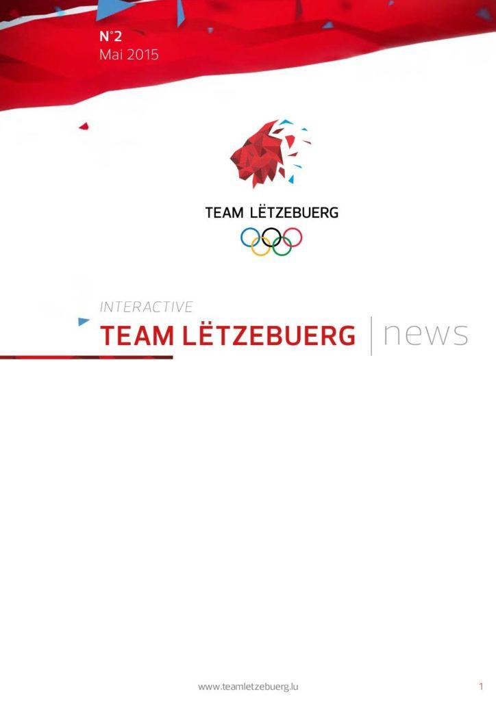 Team Lëtzebuerg News N°2